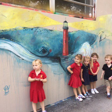 Preschool Art Walk
