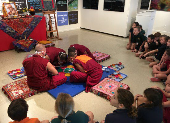 Visiting Tibetan Monks